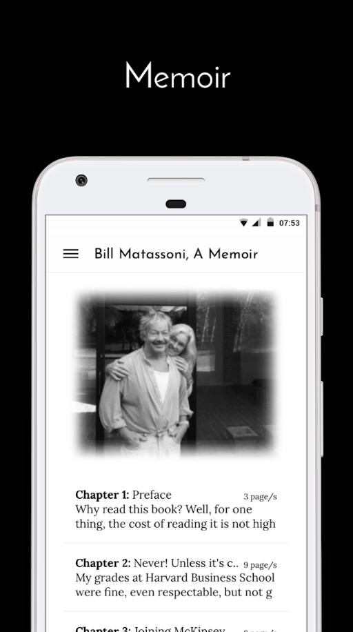 Bill Matassoni A Memoir Apps on Google Play (1)