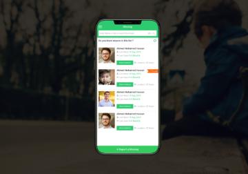 Missing Mobile App
